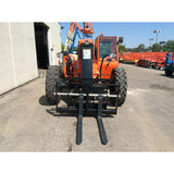 2018 SKYTRAK 8042 8000 LB DIESEL TELESCOPIC FORKLIFT TELEHANDLER PNEUMATIC 4WD ENCLOSED CAB BRAND NEW STOCK # BF91106959-121-GND