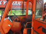 2011 SKYTRAK 8042 8000 LB DIESEL TELESCOPIC FORKLIFT TELEHANDLER PNEUMATIC 4WD ENCLOSED CAB 3850 HOURS STOCK # BF9494569-WIB
