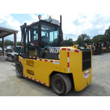 "2008 TAYLOR THC-400L 40000 LB DIESEL FORKLIFT CUSHION 103/78"" MAST SIDE SHIFTING FORK POSITIONER 6100 HOURS STOCK # BF989999-DIENC"