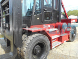 "2010 TAYLOR TX250S 25000 LB CAPACITY DIESEL FORKLIFT PNEUMATIC 189/240"" 2 STAGE MAST SIDE SHIFTING FORK POSITIONER ENCLOSED CAB 9100 HOURS STOCK # BF9592219-DIENC - United Lift Used & New Forklift Telehandler Scissor Lift Boomlift"