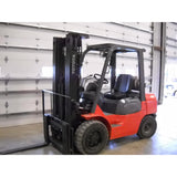 2005 TOYOTA 7FGU30 6000 LB LP GAS FORKLIFT PNEUMATIC 88/187 3 STAGE MAST 10340 HOURS STOCK # BF9145899-PLP - United Lift Used & New Forklift Telehandler Scissor Lift Boomlift