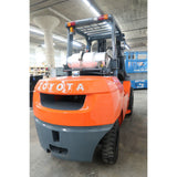 2010 TOYOTA 7FGAU50 11000 LB LP GAS FORKLIFT PNEUMATIC 92/172 2 STAGE MAST 4715 HOURS STOCK # BF18730-DPA ** ONLY $742.00 PER MONTH **