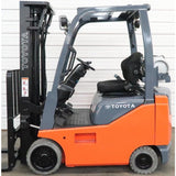 2010 TOYOTA 8FGCU15 3000 LB LP GAS FORKLIFT CUSHION 83/189 3 STAGE MAST SIDE SHIFTER 7988 HOURS STOCK # BF18729-DPA ** ONLY $318.00 PER MONTH **
