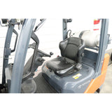 2013 TOYOTA 8FGCU30 6000 LB LP GAS FORKLIFT CUSHION 86/187 3 STAGE MAST SIDE SHIFTER 3881 HOURS STOCK # BF02795-DPA