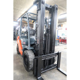 2012 TOYOTA 8FGU30 6000 LB LP GAS FORKLIFT PNEUMATIC 86/187 3 STAGE MAST SIDE SHIFTER 3423 HOURS STOCK # BF33753-DPA ** ONLY $597.00 PER MONTH **