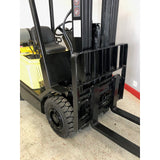"2005 YALE GLP030 3000 LB LP GAS FORKLIFT PNEUMATIC 83/189"" 3 STAGE MAST SIDE SHIFTER 9634 HOURS STOCK # BF9799-COCA - united-lift-equipment"