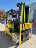 "2008 YALE GLC155VXN 15500 LB LP GAS FORKLIFT CUSHION 100/185"" 3 STAGE MAST 2363 HOURS STOCK # BF9255359-RIL - United Lift Used & New Forklift Telehandler Scissor Lift Boomlift"