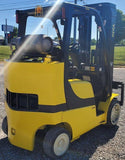 "2014 YALE GLC080VXN 8000 LB LP GAS FORKLIFT CUSHION 99/200"" 3 STAGE MAST SIDE SHIFTER 5418 HOURS STOCK # BF9175139-INB - United Lift Used & New Forklift Telehandler Scissor Lift Boomlift"