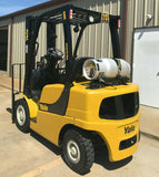 "2010 YALE GLP050VX 5000 LB LP GAS FORKLIFT PNEUMATIC 90/200"" 3 STAGE MAST SIDE SHIFTER 1307 HOURS STOCK # 15299-970582-ARB - United Lift Used & New Forklift Telehandler Scissor Lift Boomlift"