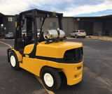 2013 YALE GLP100VX 10000 LB LP GAS FORKLIFT PNEUMATIC 92/175 3 STAGE MAST SIDE SHIFTER 3924 HOURS STOCK # BF9245219-TXB