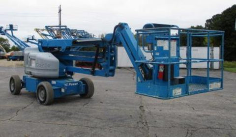 2011 GENIE Z45/25JDC ARTICULATING BOOM LIFT AERIAL LIFT WITH JIB ARM 45' REACH 48 VOLT ELECTRIC STOCK # BF9238539-WIB