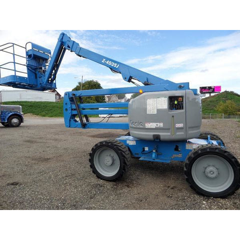 2008 GENIE Z45/25J ARTICULATING BOOM LIFT AERIAL LIFT 45' REACH DUAL FUEL 4WD 3620 HOURS STOCK # BF9267529-349-VAOH - United Lift Used & New Forklift Telehandler Scissor Lift Boomlift
