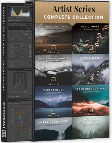 Artist Series - Complete Collection (Lightroom Presets)