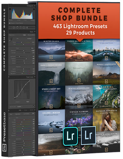 Complete Shop Bundle: 25+ Products for Landscape & Travel Photography