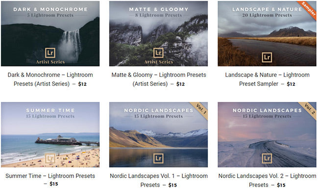 Lightroom Presets for Landscapes