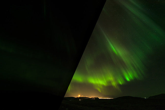 Northern Lights – Lightroom Presets (Before and After)