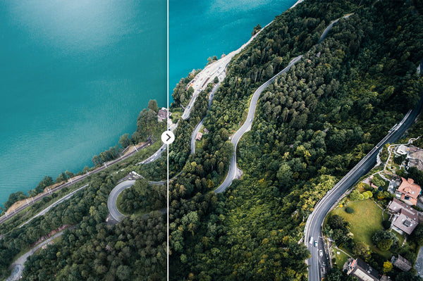 Aerial Photography with Drones – 45 Lightroom Presets