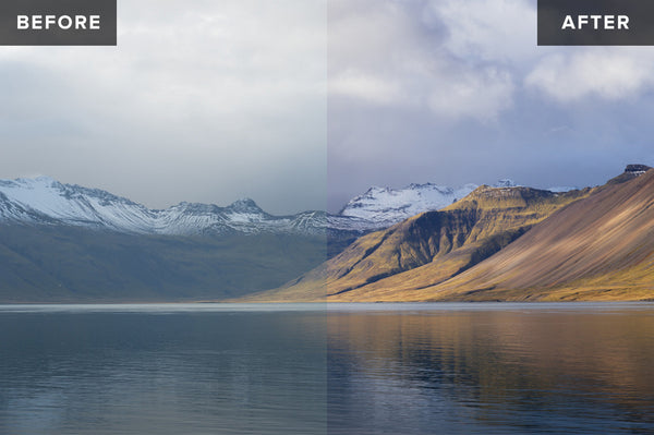 Nordic Landscapes Vol. 1-3 (Bundle) – 45 Lightroom Presets - Lightroom-Presets by Presetbase - 5