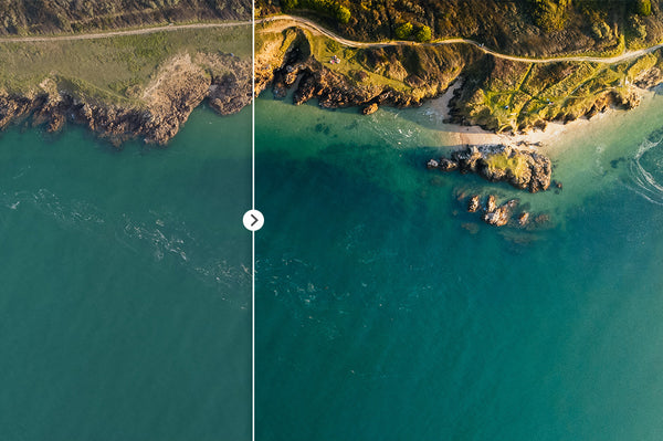 45 Lightroom Presets for Aerial Photography with Drones | Presetbase