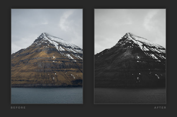 Matte Black & White – Lightroom Presets (Artist Series) | Presetbase