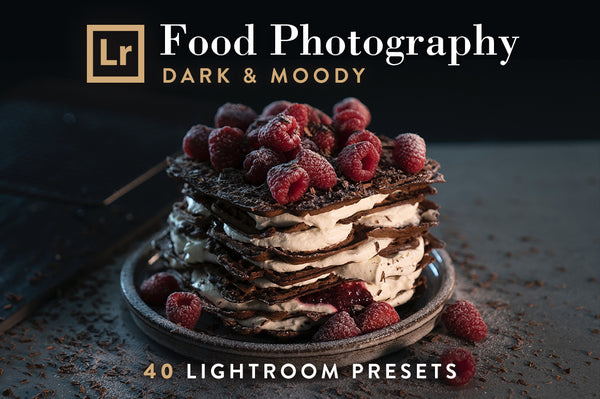 FREE Lightroom Presets for Food Photography (Dark & Moody) | Presetbase