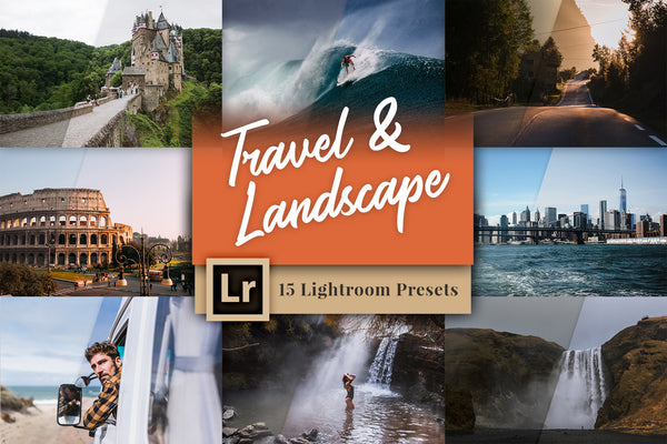 Travel & Landscape Photography – Lightroom Presets | Presetbase