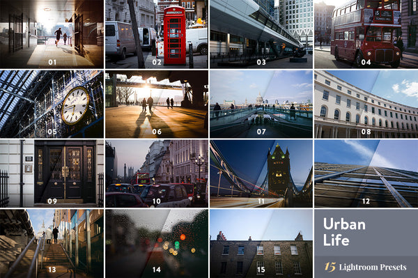 Urban Life – Lightroom Presets - Lightroom-Presets by Presetbase - 10