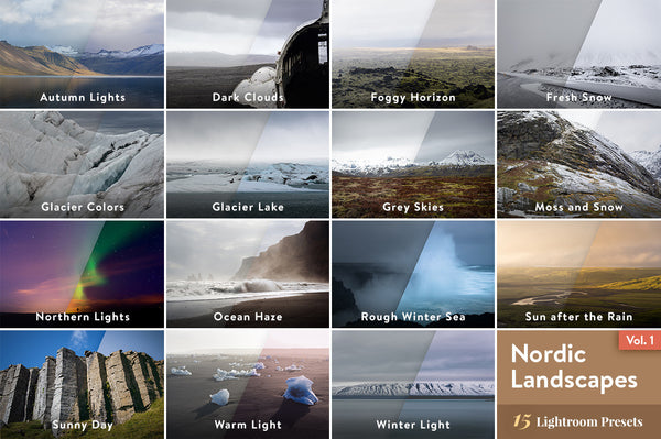 Nordic Landscapes Vol. 1 – Lightroom Presets | Presetbase