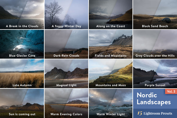 Nordic Landscapes Vol. 3 – Lightroom Presets - Lightroom-Presets by Presetbase - 9