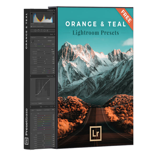 Orange & Teal – FREE Lightroom Presets | Presetbase