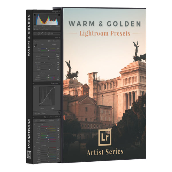 Warm & Golden – Lightroom Presets (Artist Series) | Presetbase