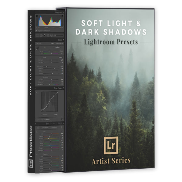 Soft Light & Dark Shadows – Lightroom Presets (Artist Series) | Presetbase