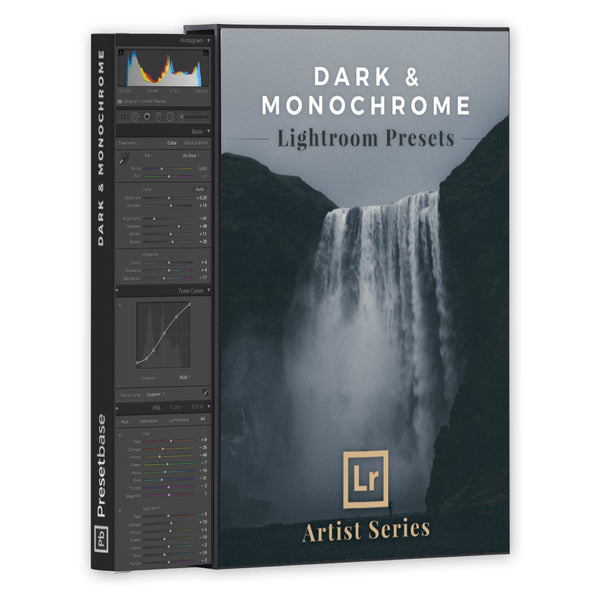Dark & Monochrome – Lightroom Presets (Artist Series) | Presetbase