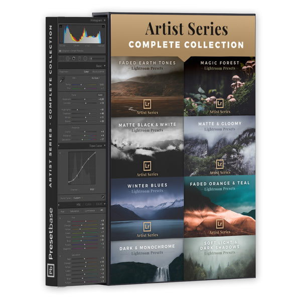 The Artist Series - 9 Preset Packs for Fine Art Photography (Complete Collection) | Presetbase