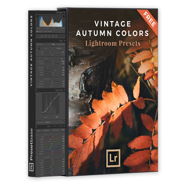 Vintage Autumn Colors – FREE Lightroom Presets
