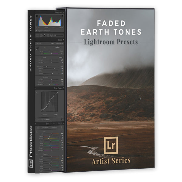 Faded Earth Tones – Lightroom Presets (Artist Series) | Presetbase