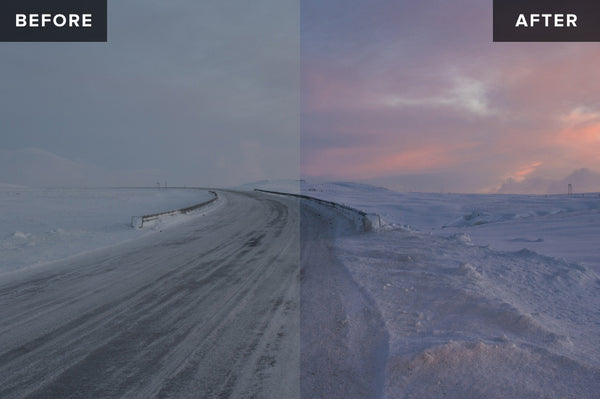 Nordic Landscapes Vol. 1-3 (Bundle) – 45 Lightroom Presets - Lightroom-Presets by Presetbase - 8
