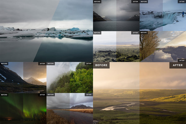 Lightroom Preset Sampler – Landscape & Nature - Lightroom-Presets by Presetbase - 12