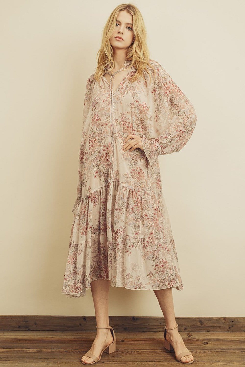 For Love And Floral Dress