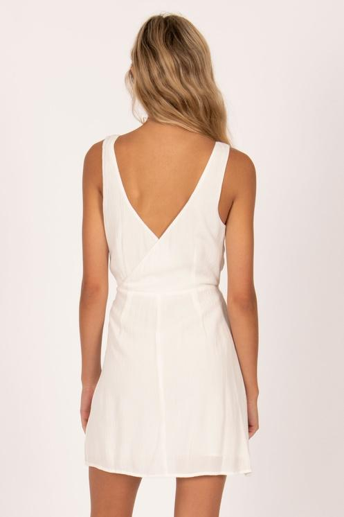 Amuse Society Jet Lag Mini Dress Casa Blanca