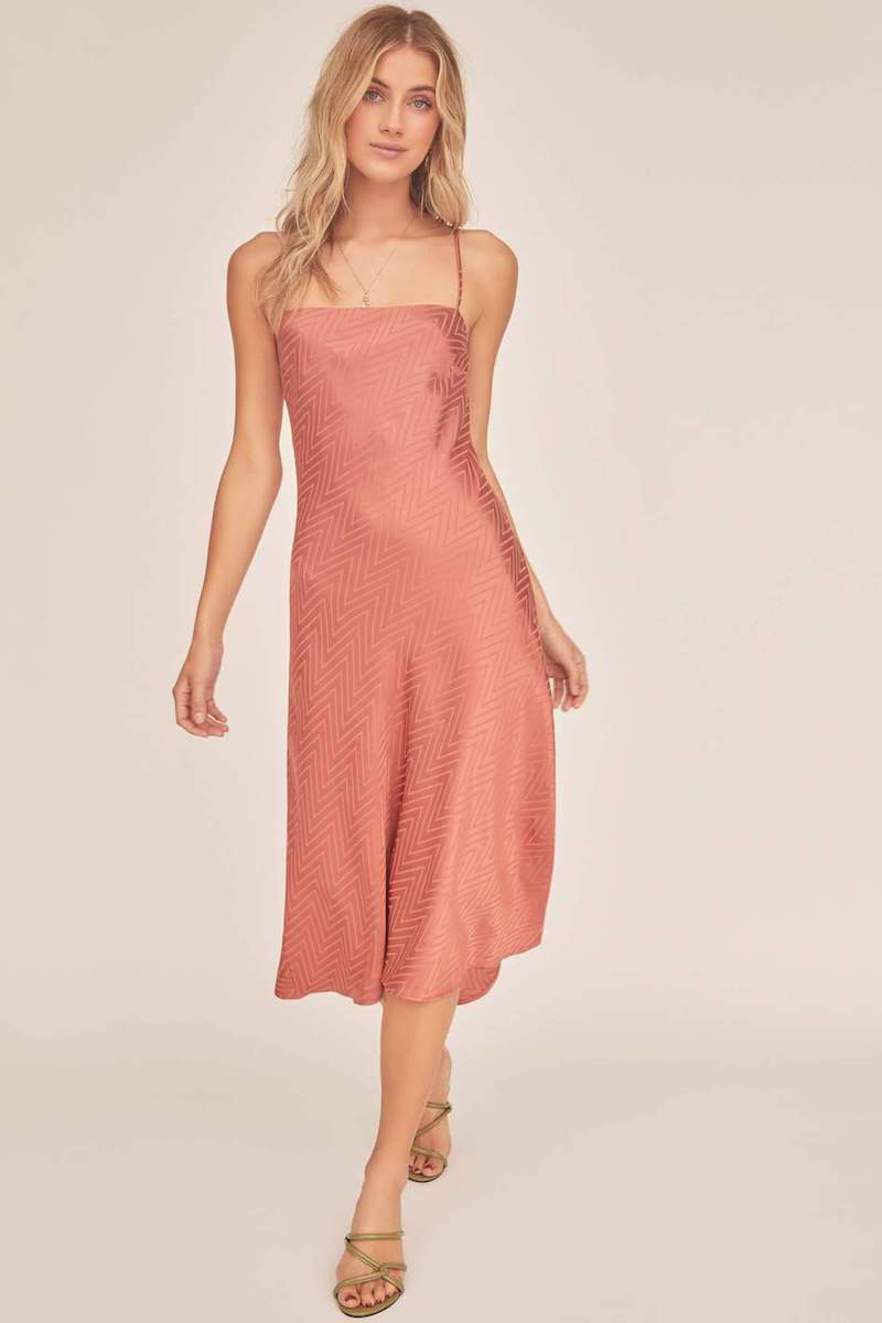 ASTR The Label Trinity Dress Canyon
