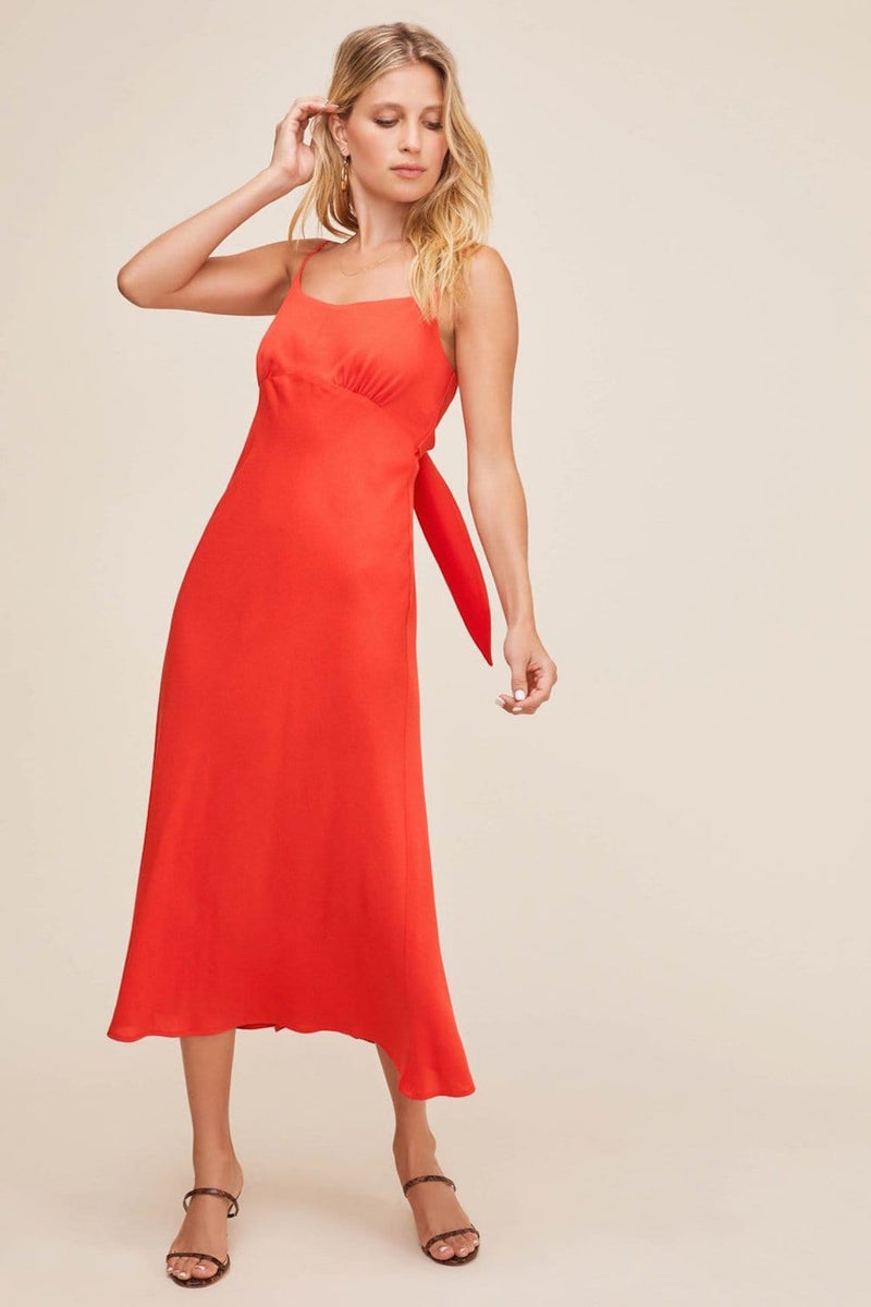 ASTR The Label Charisma Dress Red