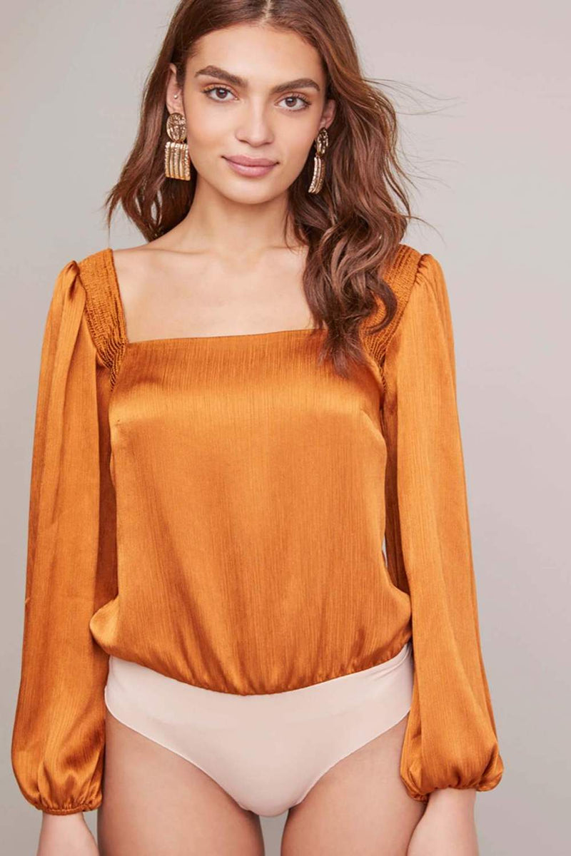 ASTR The Label Alia Bodysuit Bronze