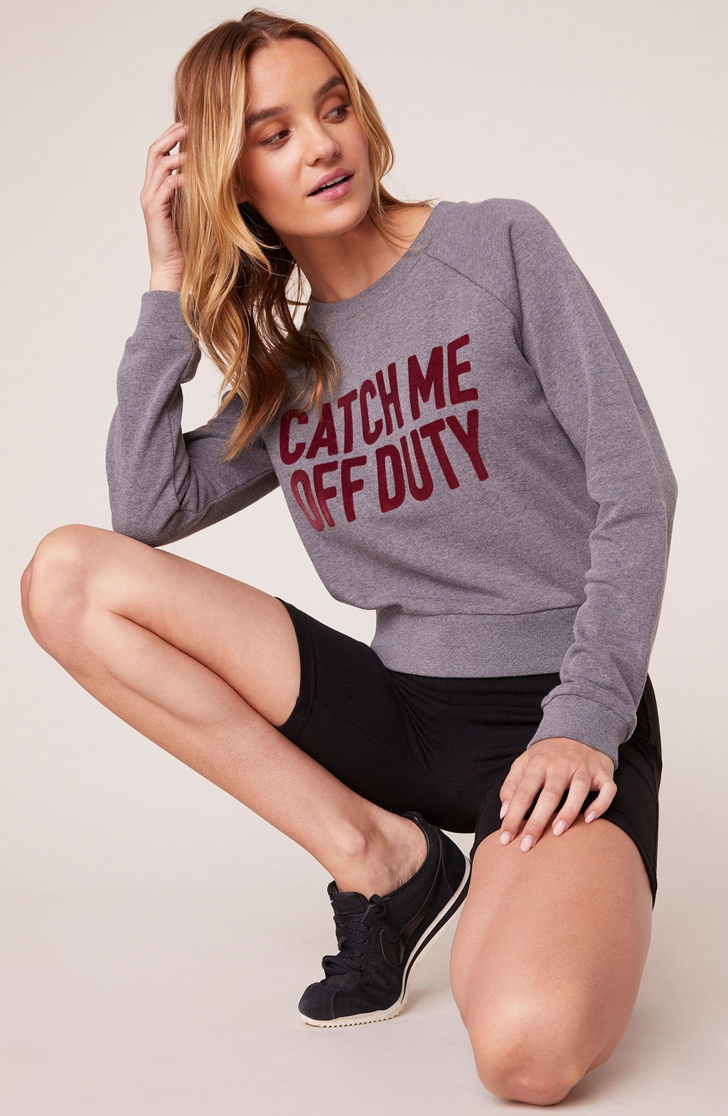 BB Dakota Catch You Off Duty Sweatshirt | Wild Dove Boutique | San Diego,CA