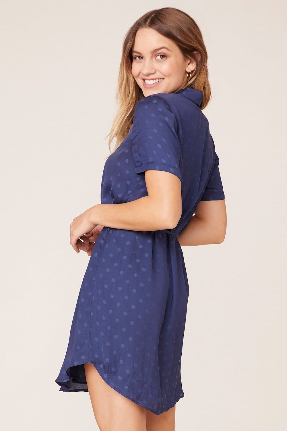 BB Dakota Do It Right Dress Navy