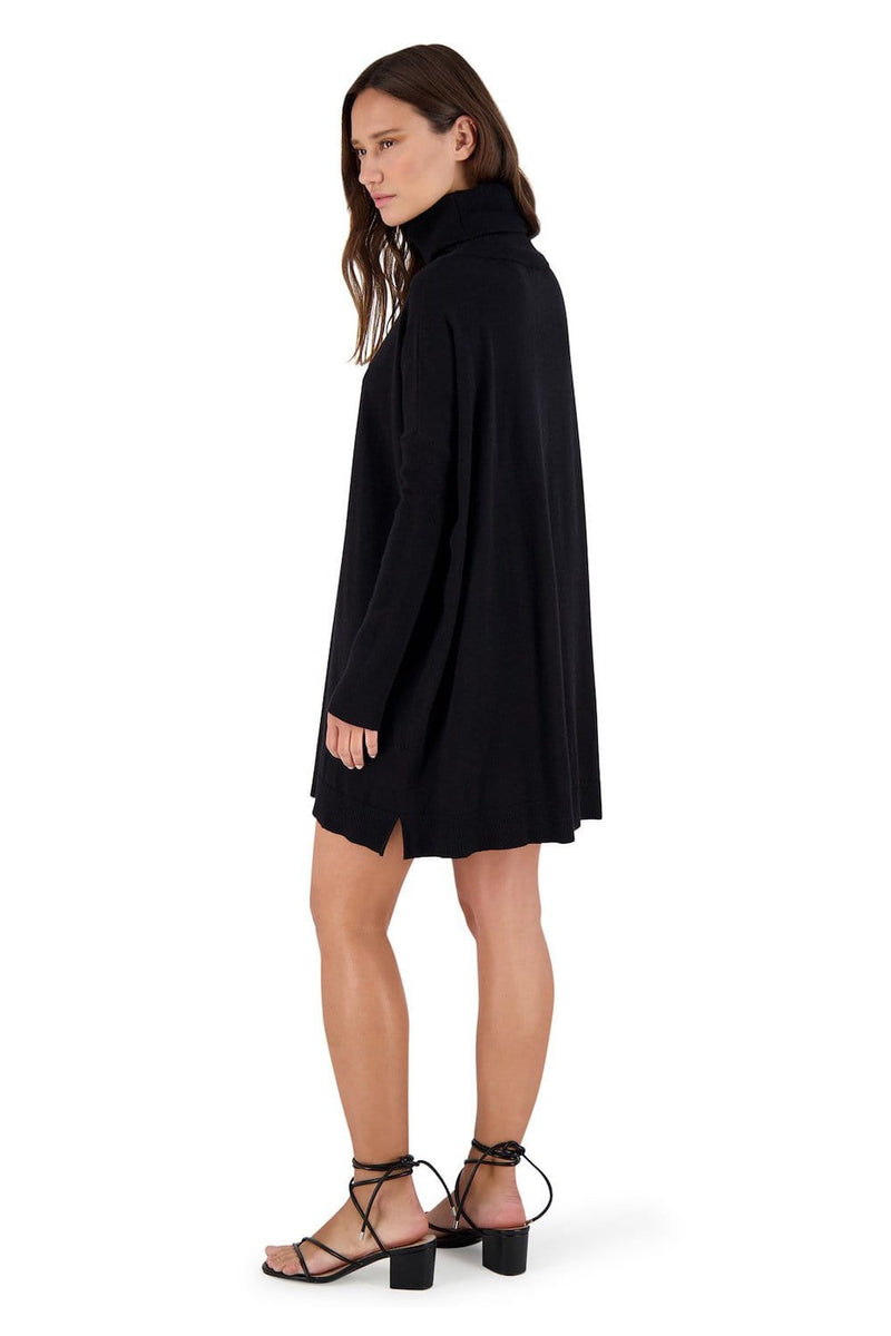 BB Dakota Hug Me Tight Sweater Dress Black