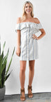 WAYF Free Romper Button Down Dress | Wild Dove Boutique | San Diego, CA