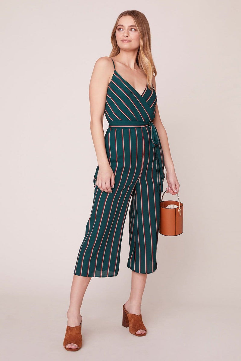 Cross The Line Striped Jumpsuit | Wild Dove Boutique | San Diego, CA