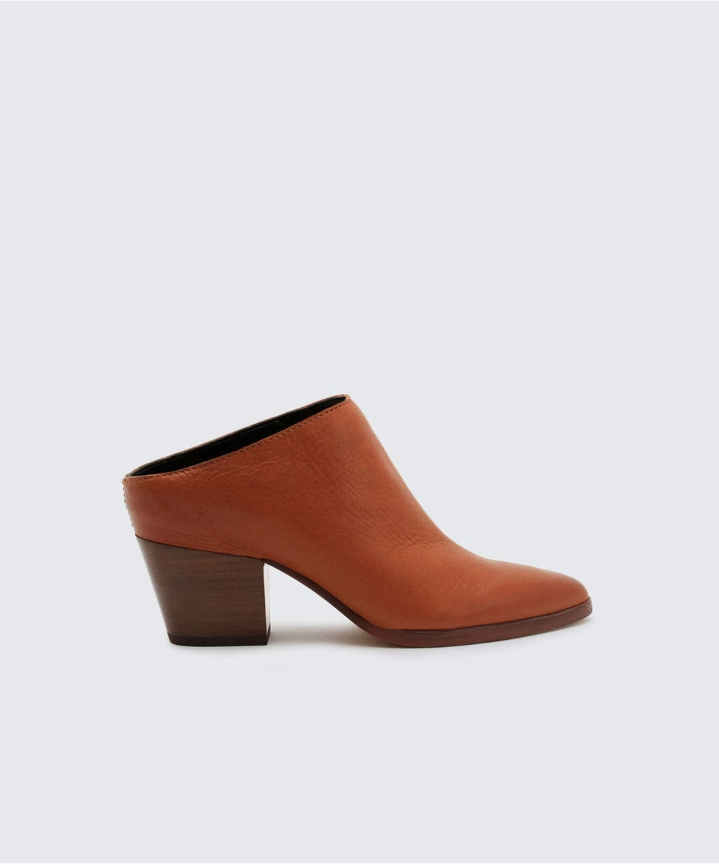 Dolce Vita Roya Mule Brown Leather