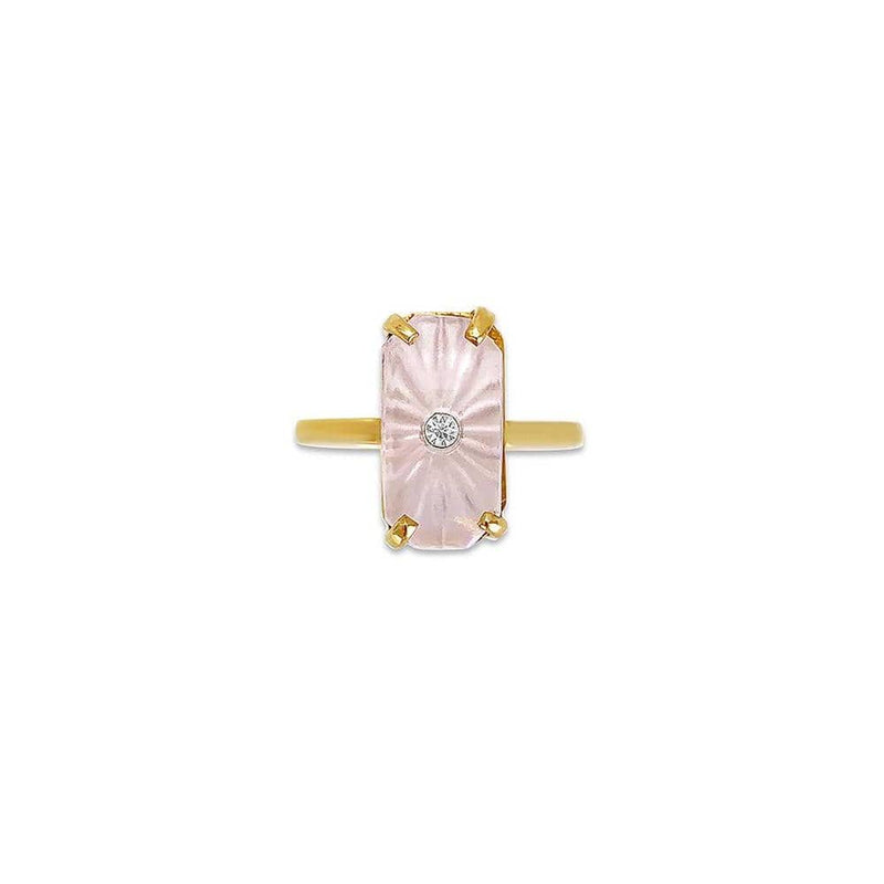 Rose Starburst Ring
